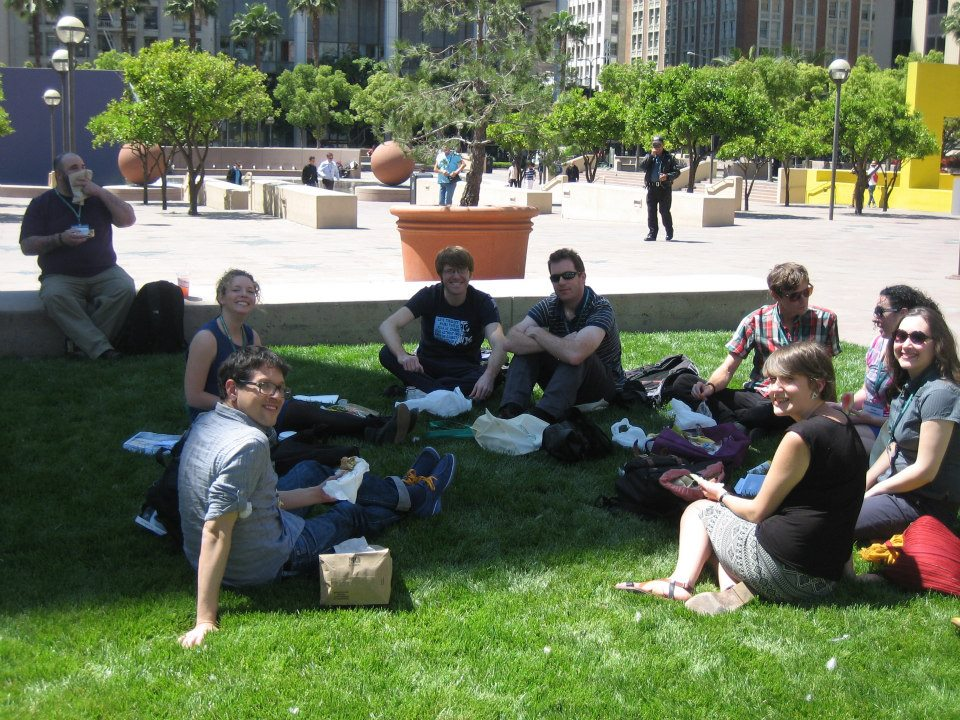 Lunchtime at the AAG with the Subconference