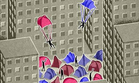 Matt Kenyon_ocupy tent parachutes_homepage